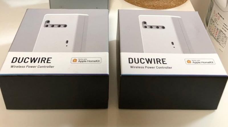 DucTech Ducwire - HomeKit Wireless Power Controller