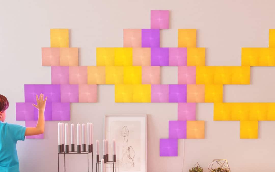 Nanoleaf Canvas: Berührungsempfindliche Lichtquadrate werden zu HomeKit Schaltern