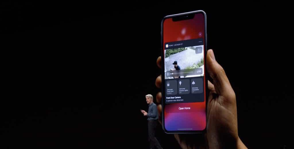 HomeKit Kamera Aufnahmen in der iCloud