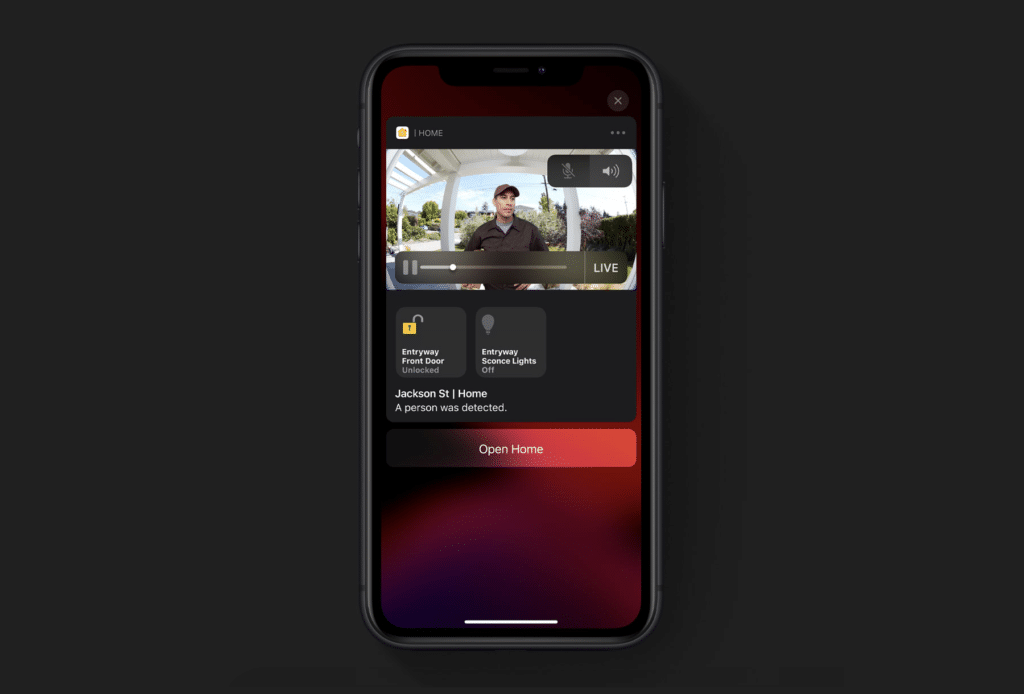 HomeKit Secure Video