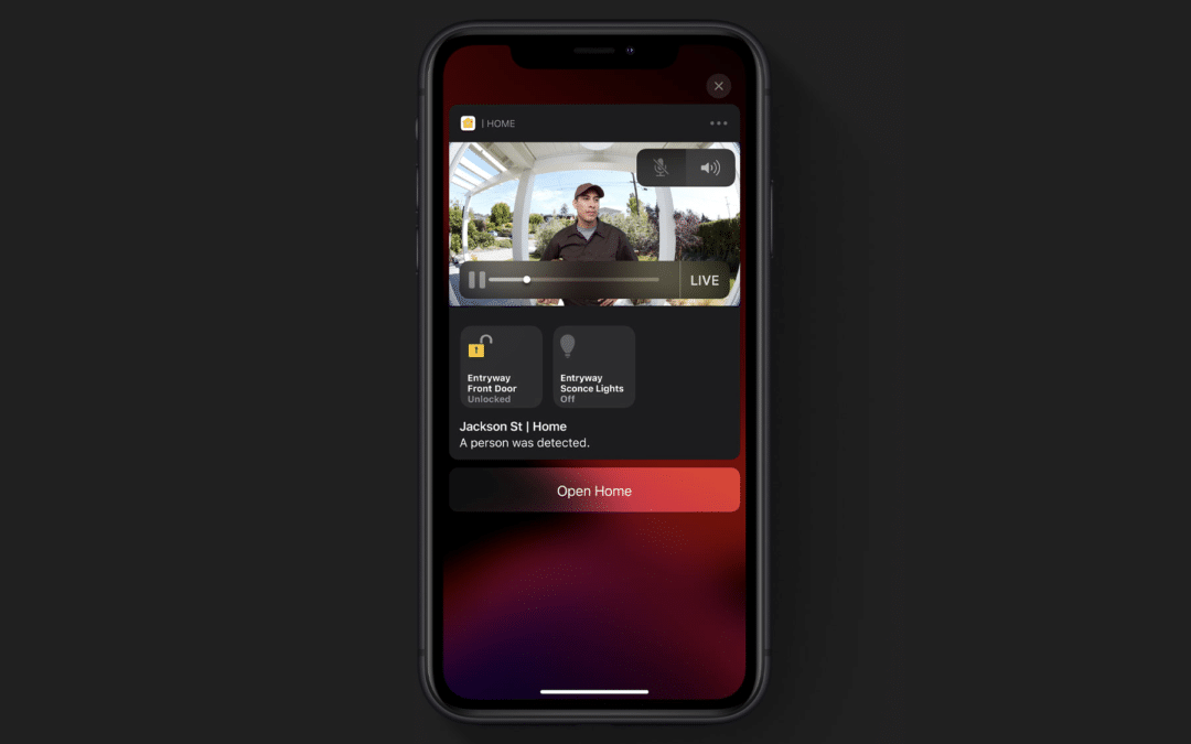 HomeKit Secure Video: Erster Screenshot aufgetaucht
