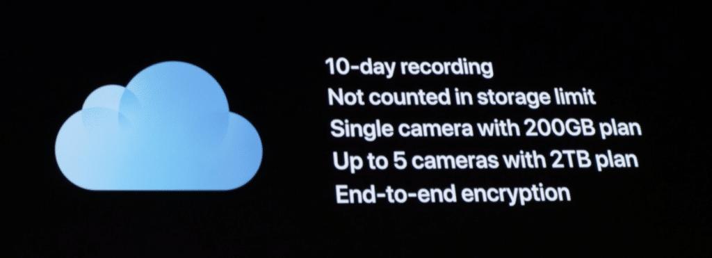 HomeKit Secure Video Kosten