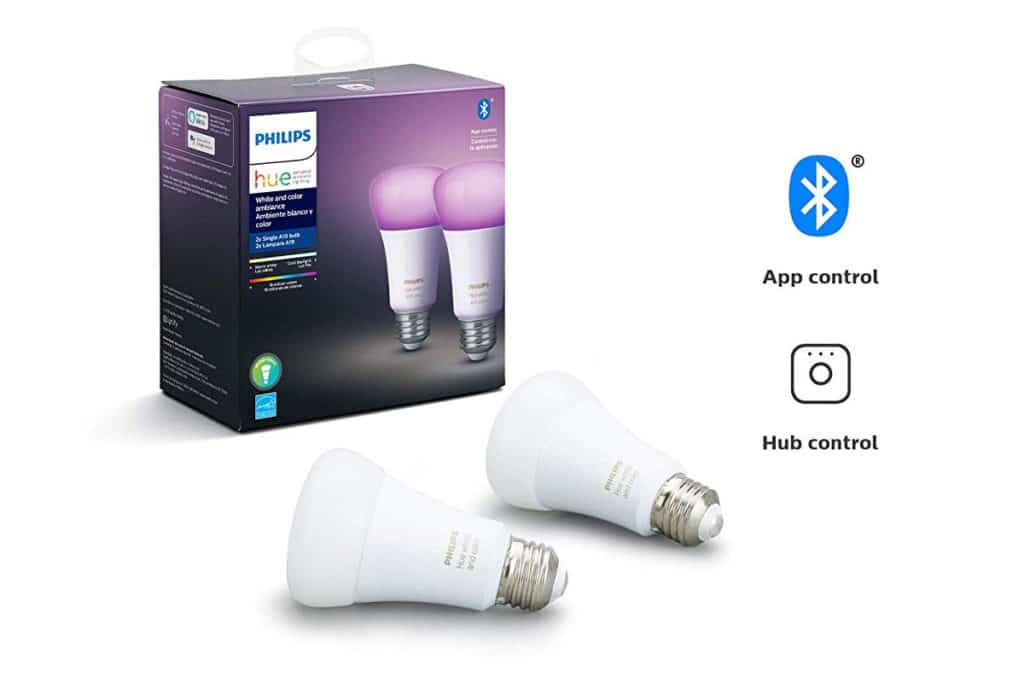 Philips Hue Bluetooth Lampen Apple HomeKit