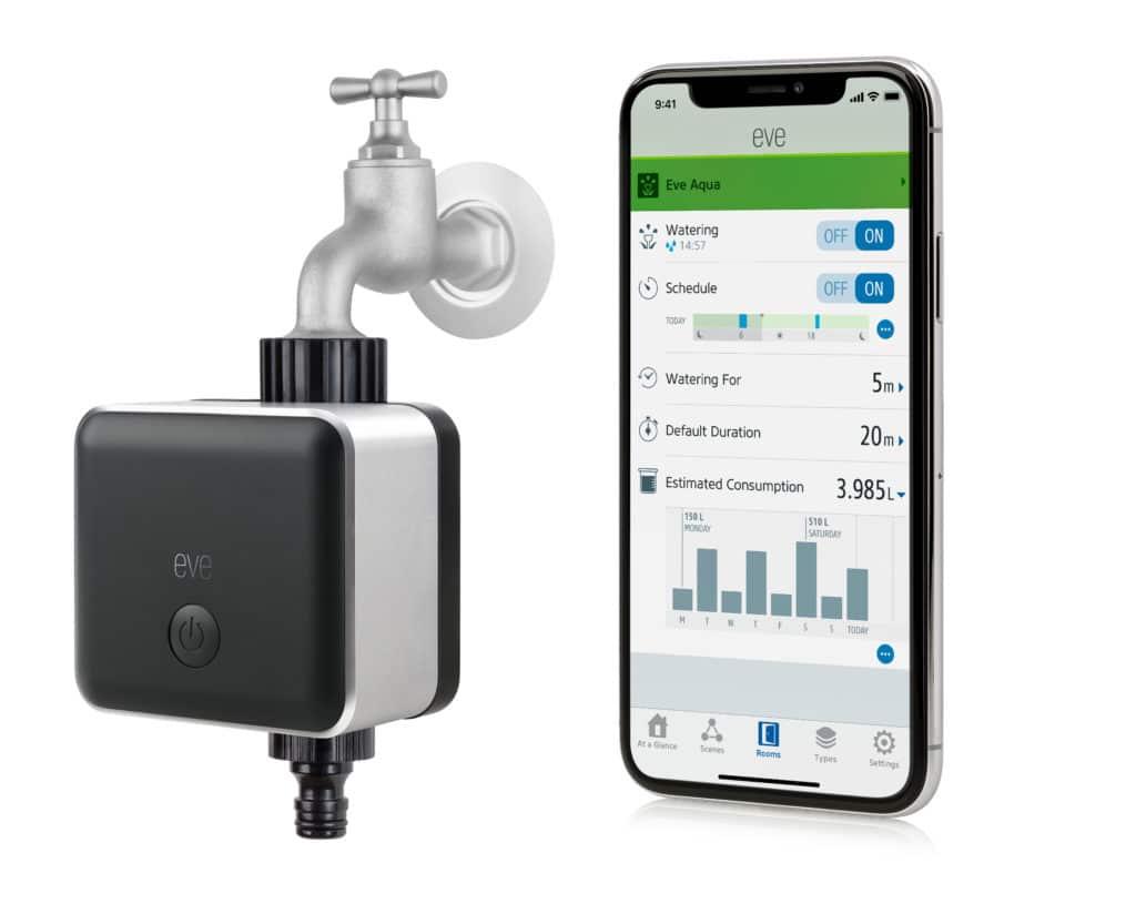 Eve Aqua HomeKit App Detailansicht
