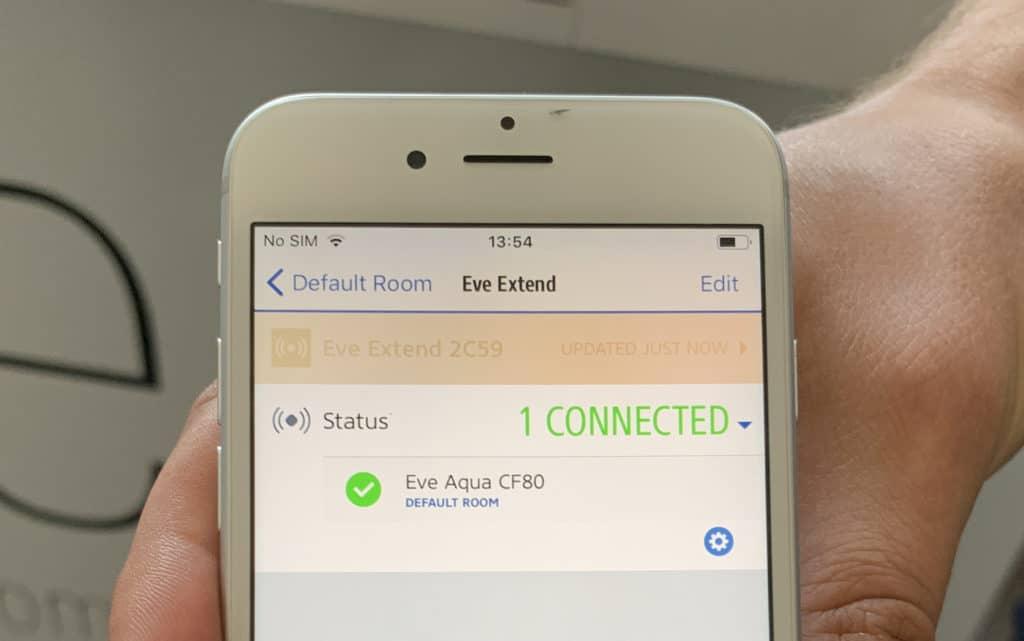 Eve Extend HomeKit App