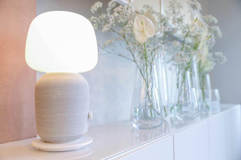 IKEA SYMFONISK Tischlampe mit Lautsprecher und AirPlay 2