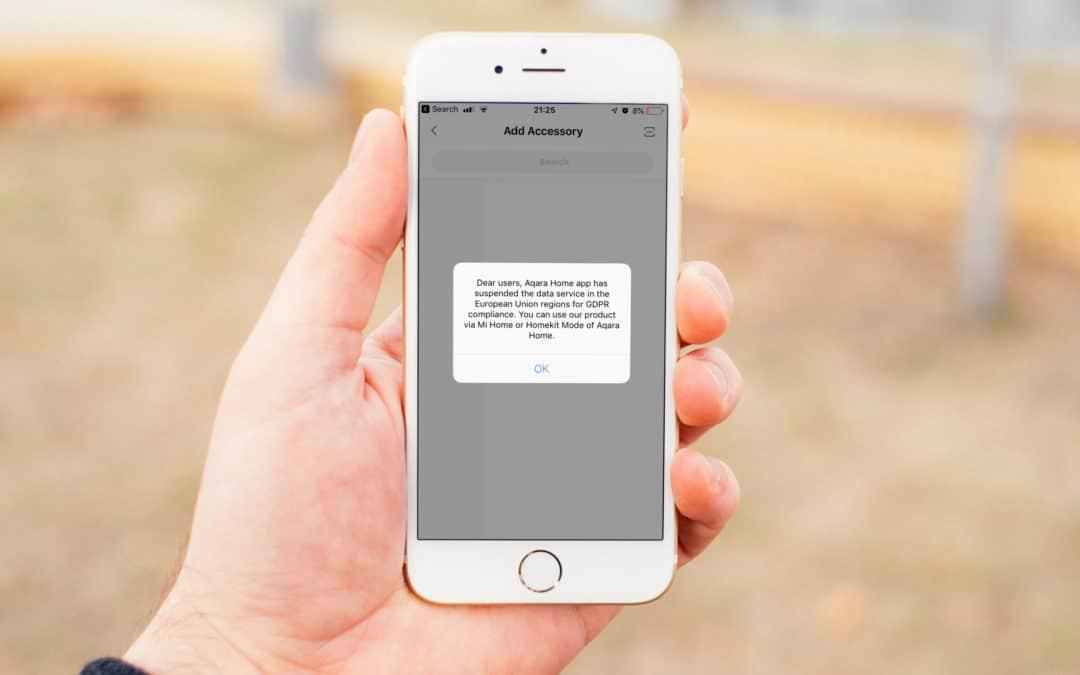 Xiaomi Aqara dreht europäischen Kunden den Datenhahn zu
