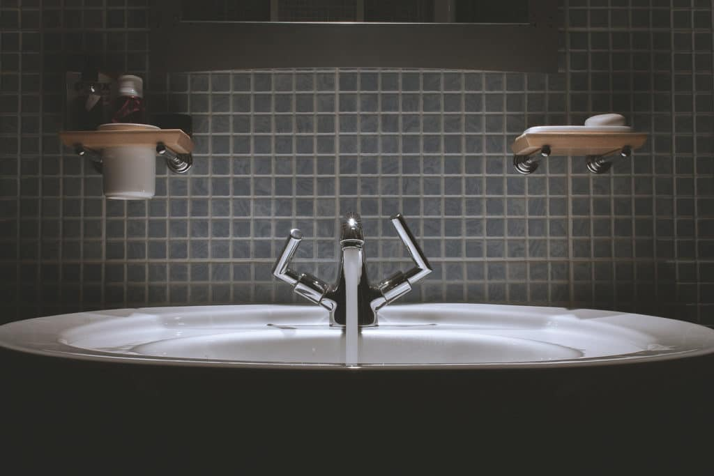 Einfache Badezimmer Statusanzeige