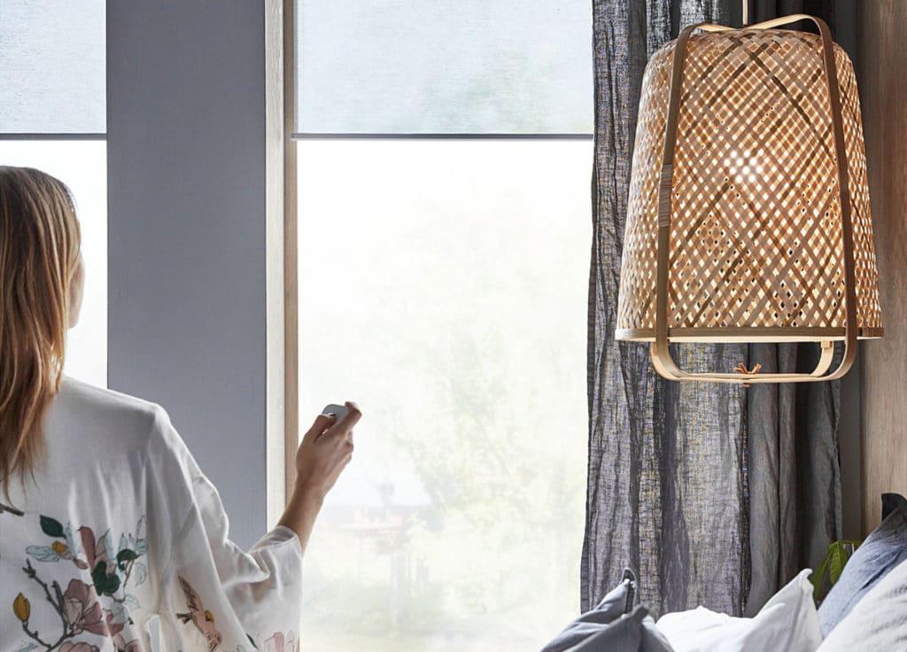 IKEA KADRILJ Verdunklungsrollo