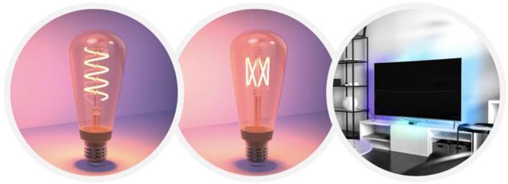 LIFX Filament Lampen und Z TV