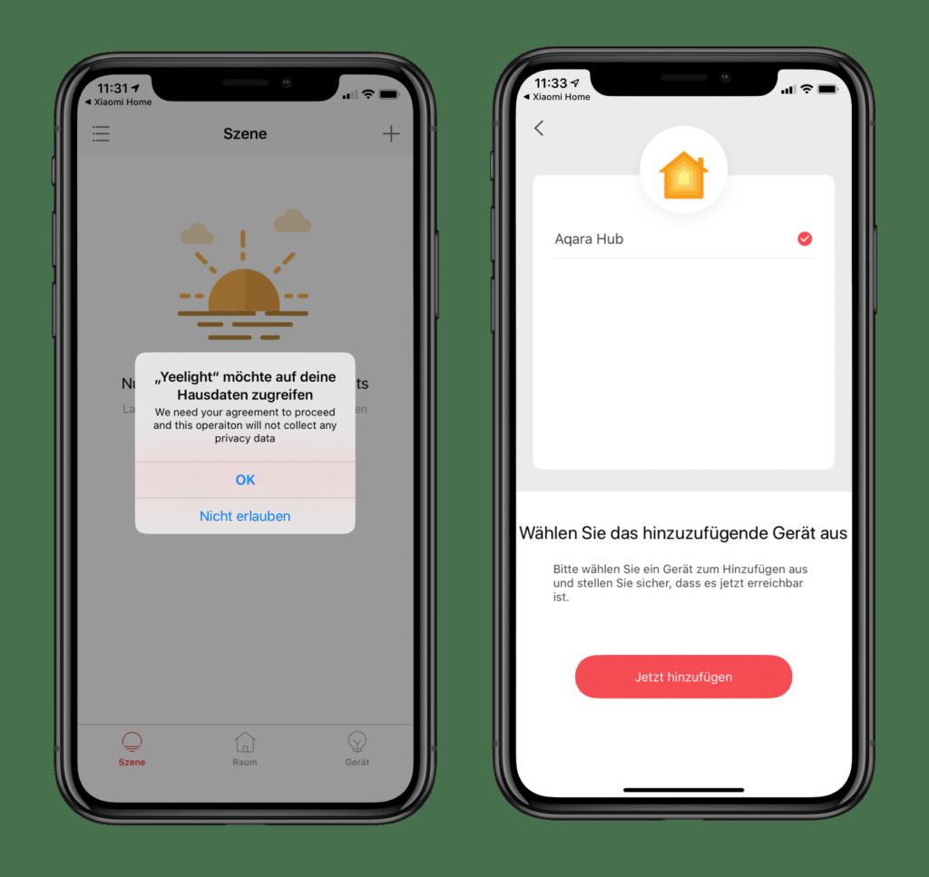 Yeelight HomeKit App