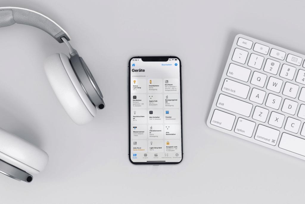 HomeKit App Home+ von Matthias Hochgatterer