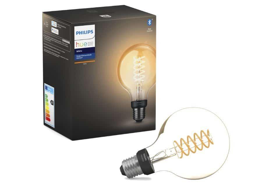 Philipe Hue Globe Filament Lampe