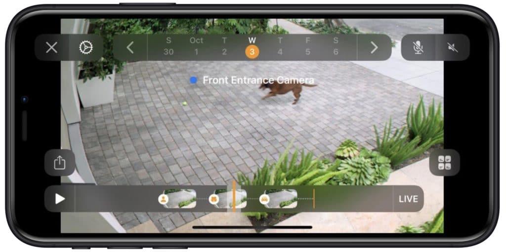 HomeKit Secure Video Screenshot