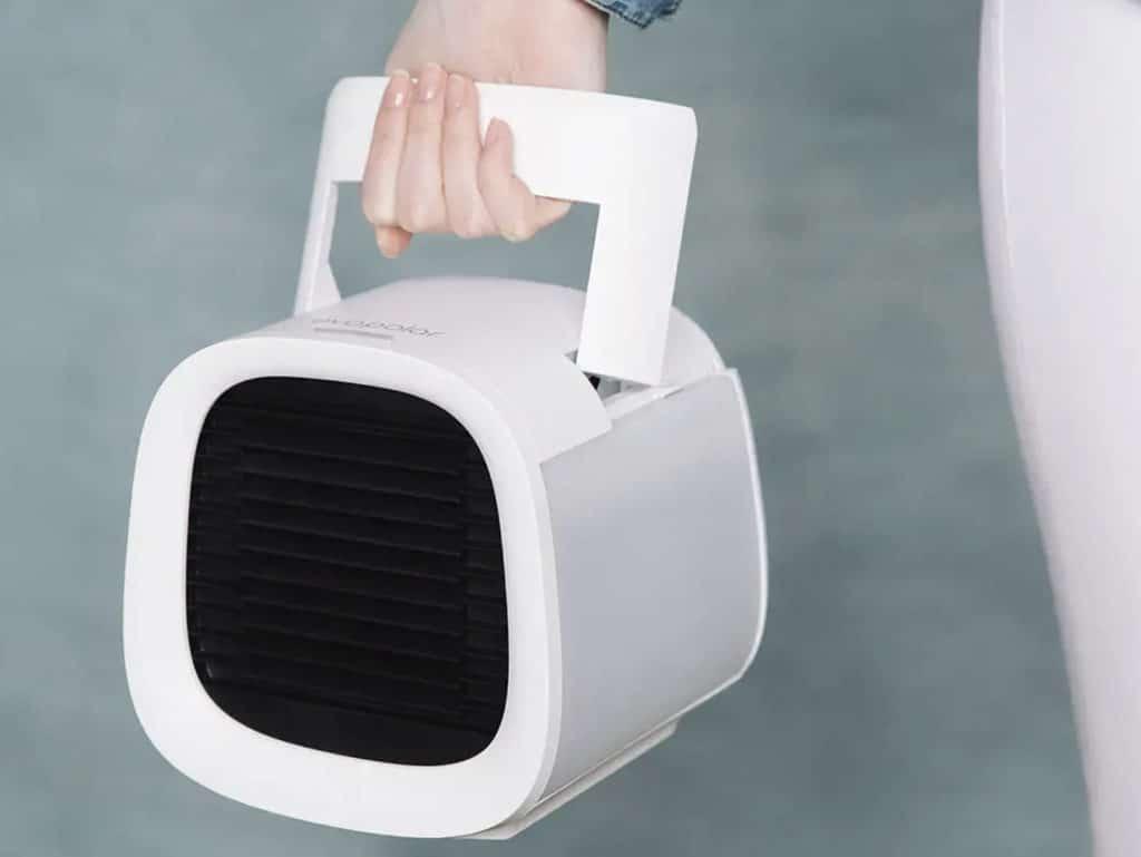 evapolar evaCHILL: Die kompakte Größe macht den Luftkühler mobil