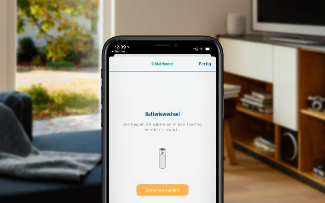 Smart Home Geräte mit Akkus betreiben
