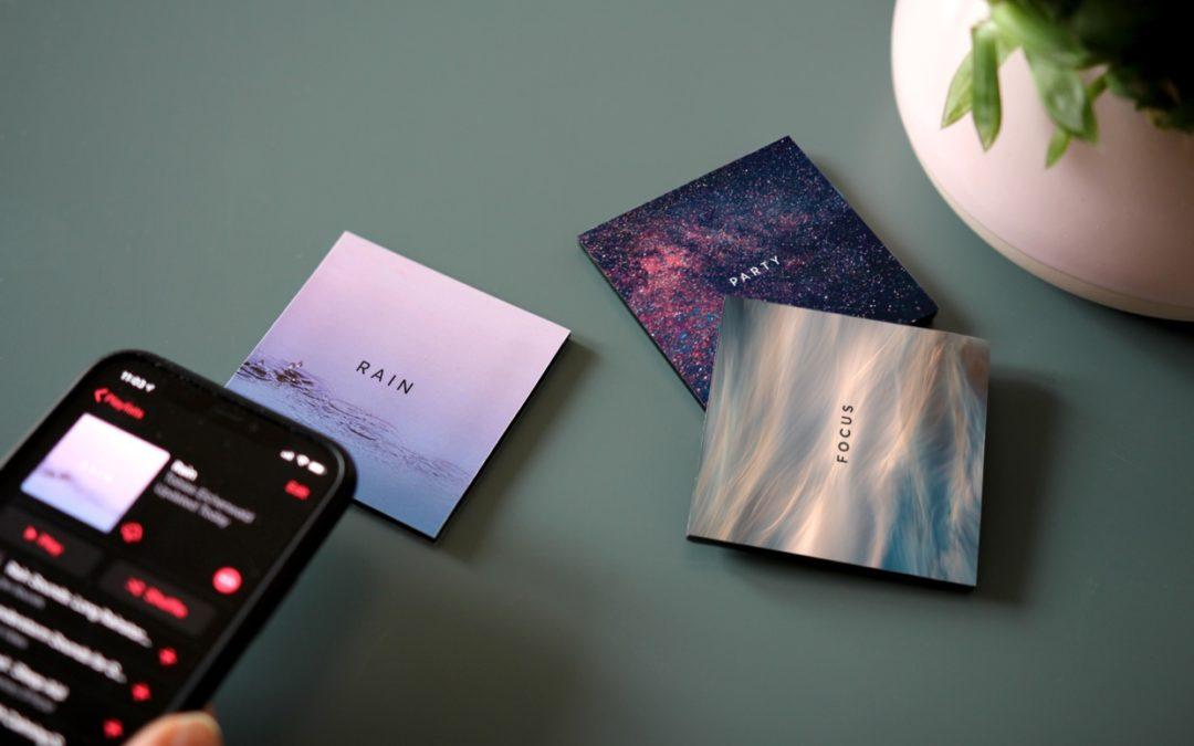 Senic Muse Blocks: Magnetische NFC-Karten im schönen Design