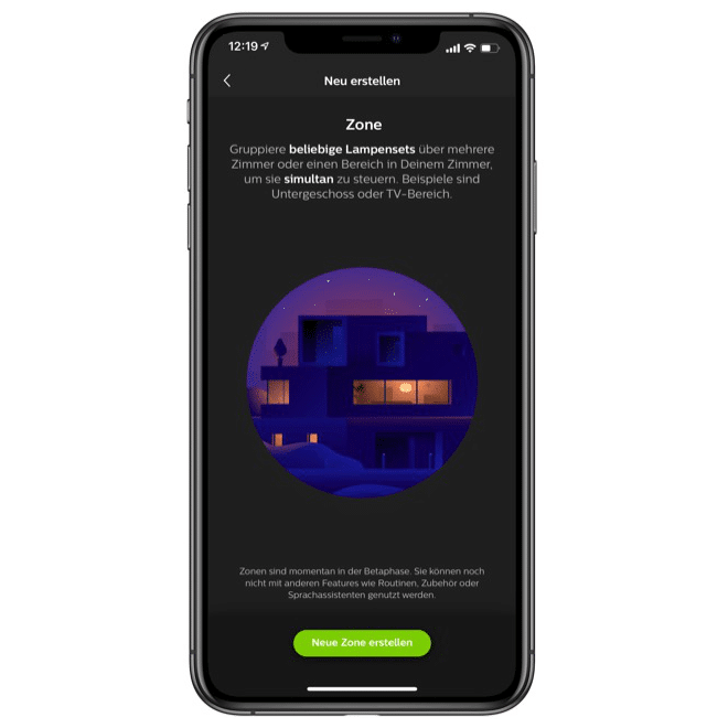 Philips Hue Zonen