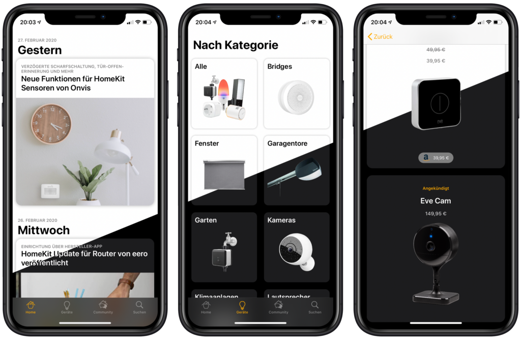 SmartApfel App - Dark Mode