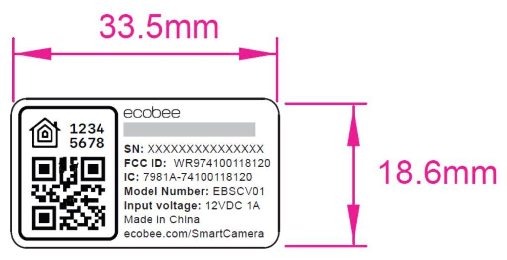 Ecobee HomeKit Kamera