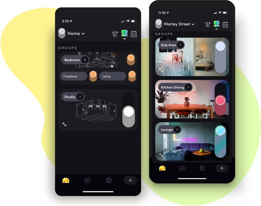 LIFX: Herstellereigene App erstrahlt in neuem Design