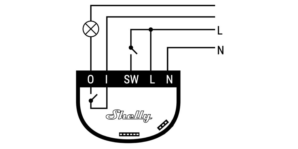 Shelly1 Schaltplan