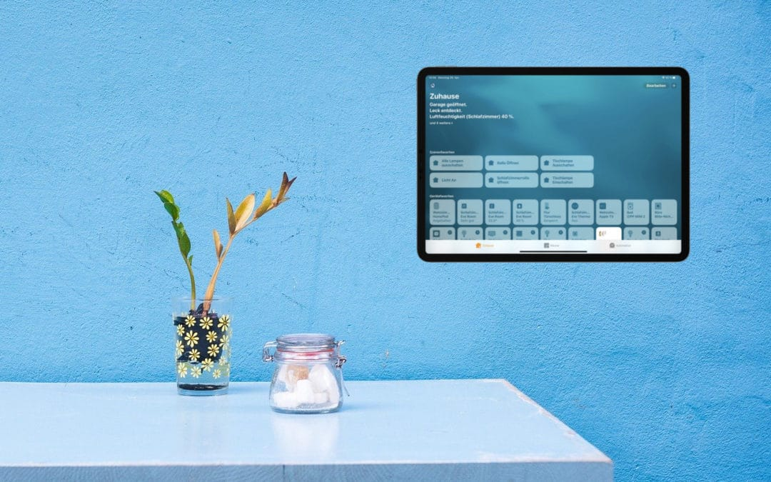 iPad über einen Bewegungsmelder einschalten