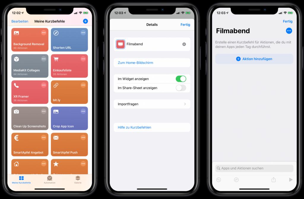 Neuen Siri Kurzbefehl erstellen