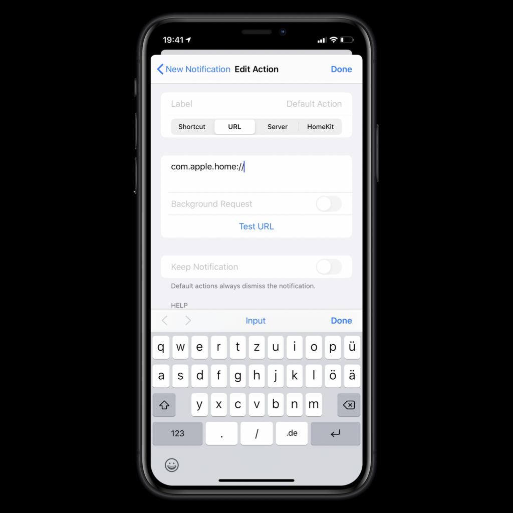 Apples Home App öffnen