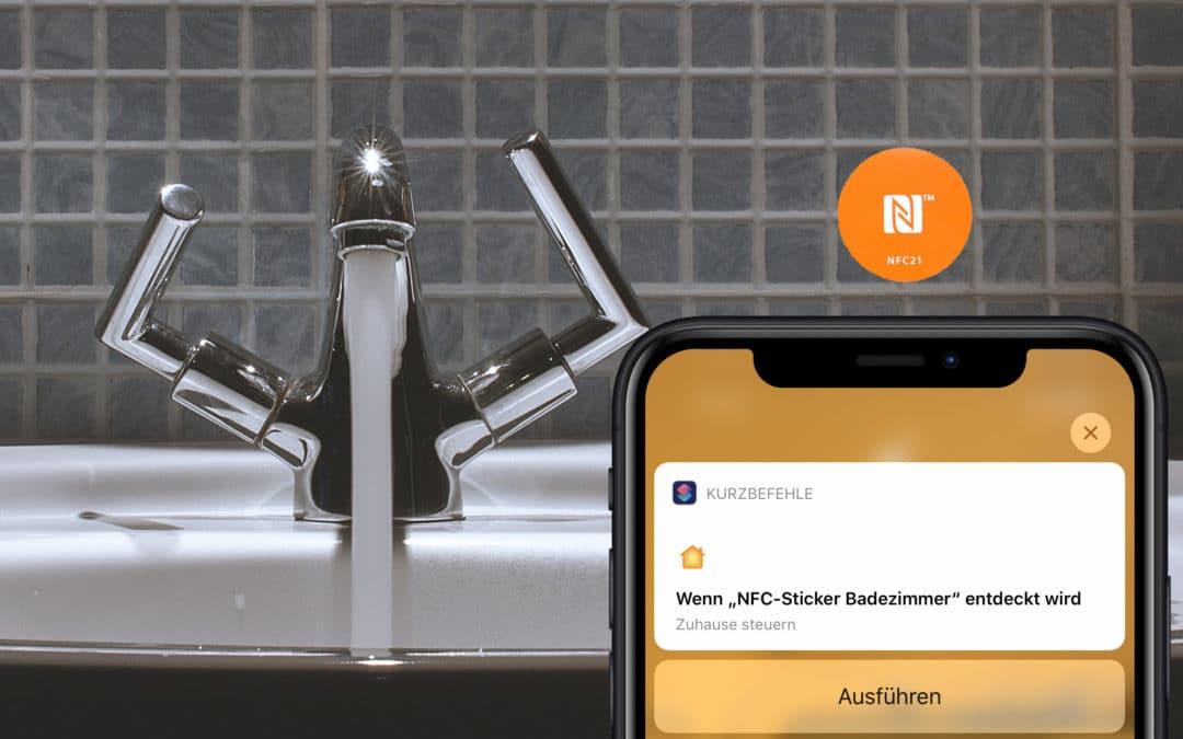 HomeKit-Szenen über NFC-Sticker auslösen