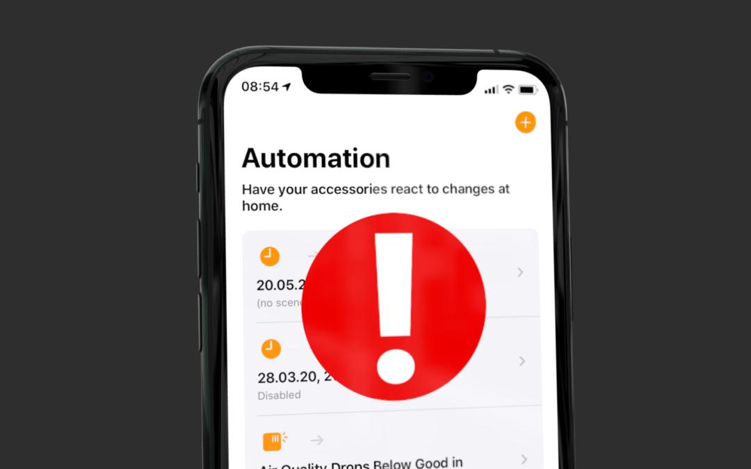URLs lassen HomeKit-Automationen abstürzen: Das ist die Lösung