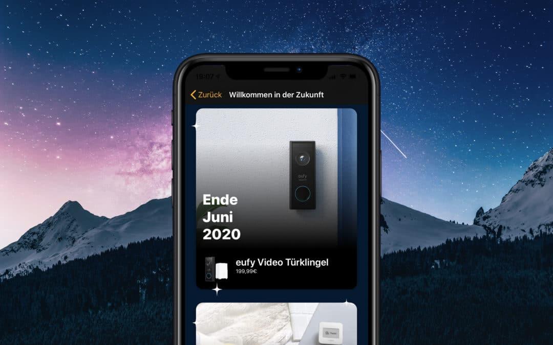 App-Update: Werft mit uns einen Blick in die Zukunft