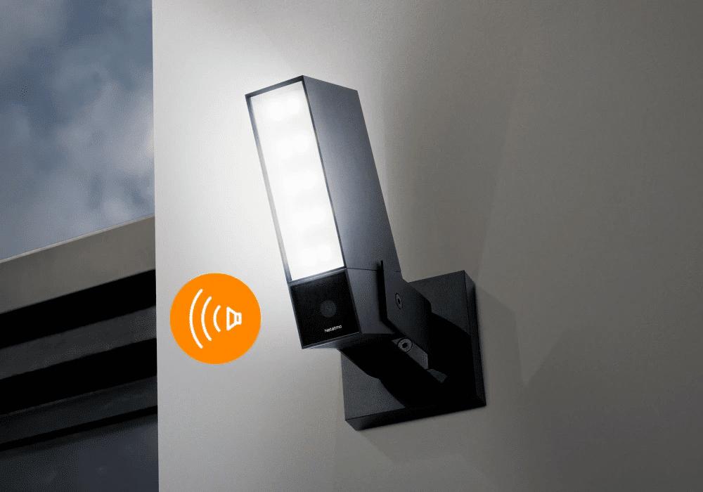 Neue Außenkamera von Netatmo mit Alarmsirene