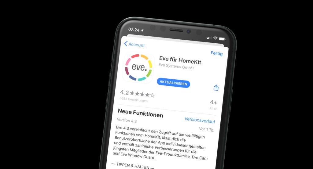 Eve veröffentlicht großes App-Update