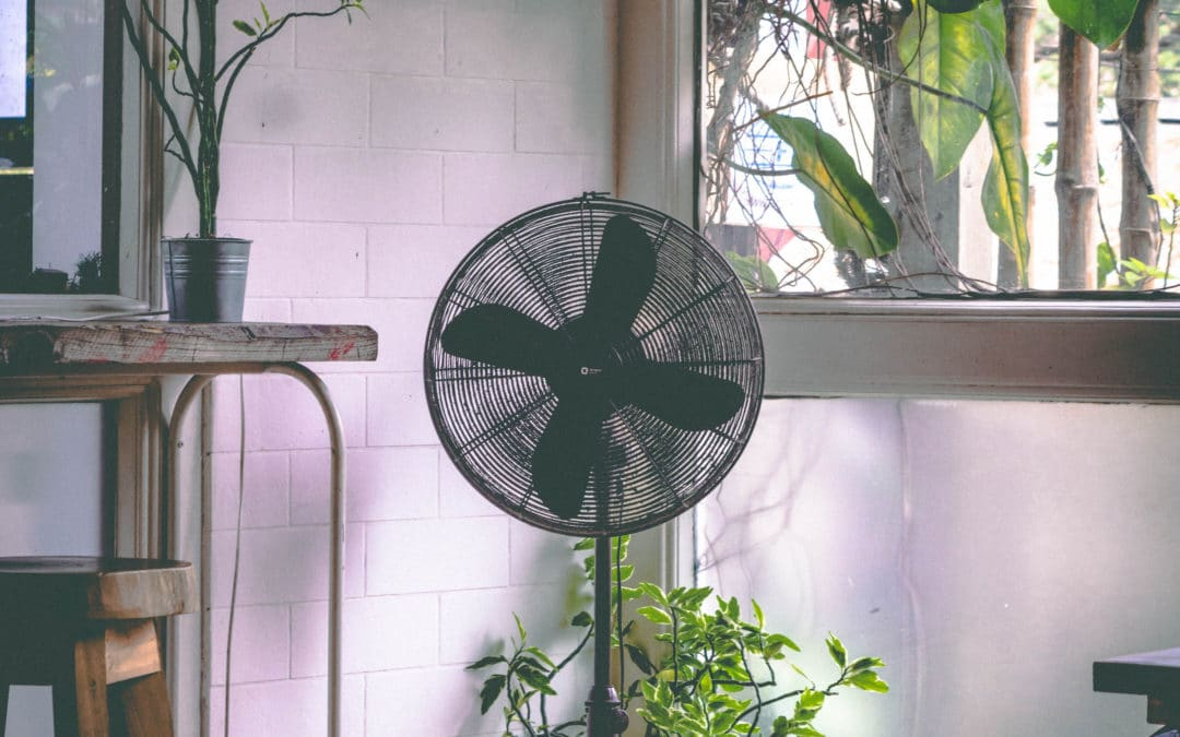 Ventilator bewegungs- und temperaturabhängig steuern