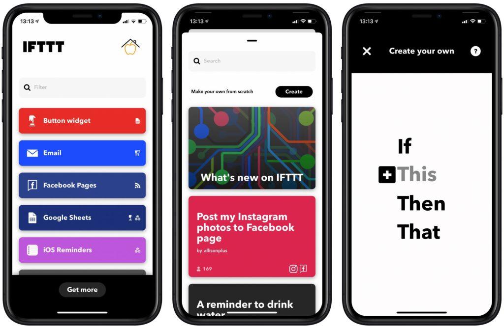IFTTT Applet erstellen