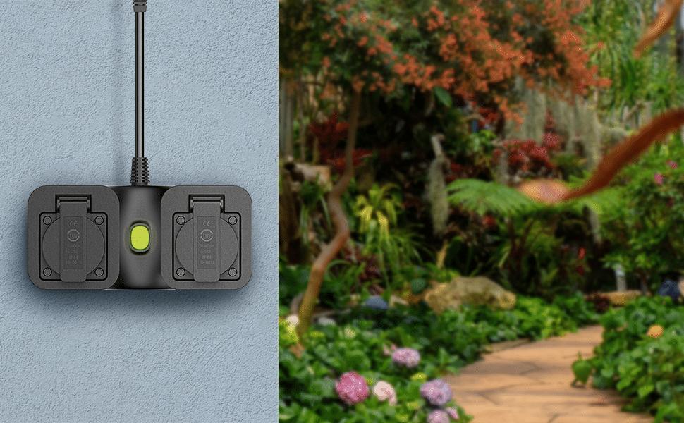 HomeKit-Außensteckdose: Doppelsteckdose von Meross erhältlich
