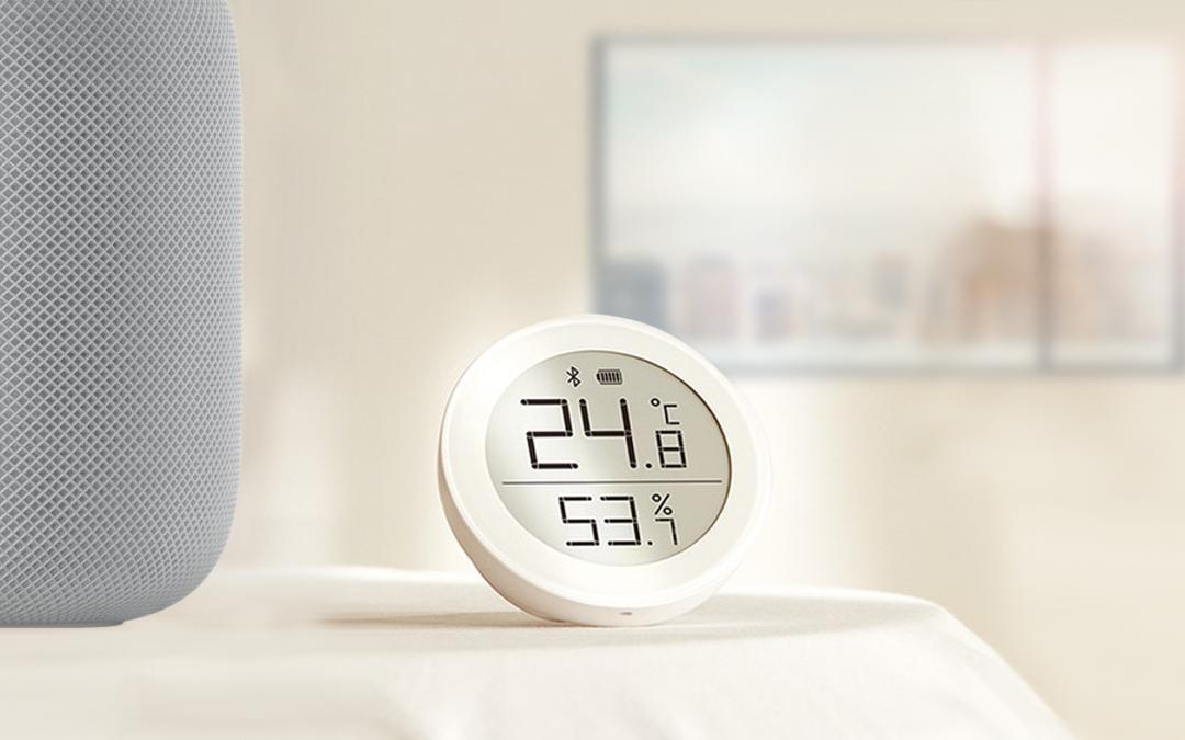 Für Temperatur und Luftfeuchtigkeit: Der neue qingping Bluetooth Raumsensor