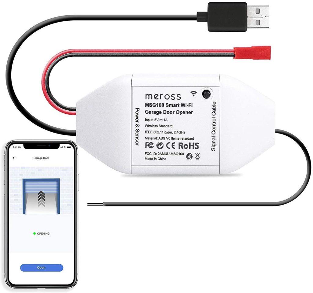 Neuer HomeKit-Garagentoröffner von Meross erwartet