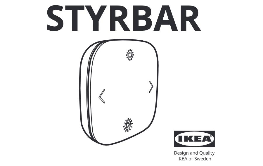 IKEA STYRBAR Fernbedienung