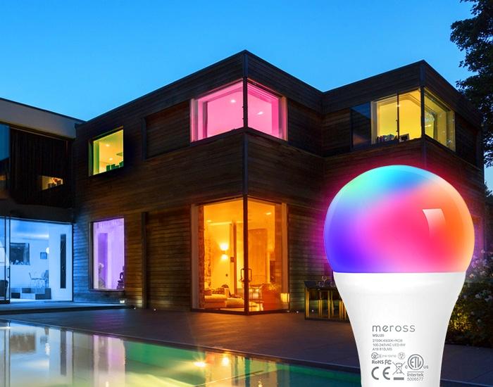 Meross veröffentlicht farbige HomeKit-Glühbirne