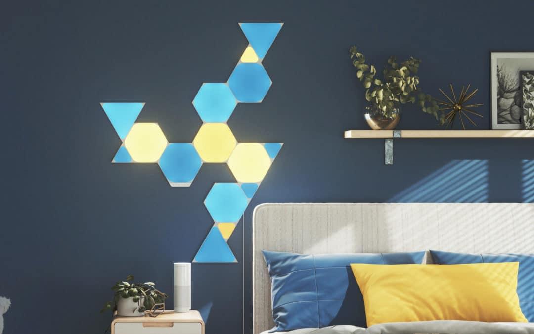Nanoleaf stellt neue Shapes, Glühbirne und Light Strip vor