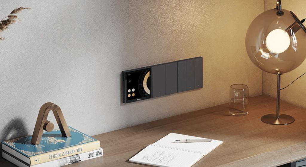 Aqara Scene Panel S1: HomeKit-Wandschalter mit Touchscreen startet