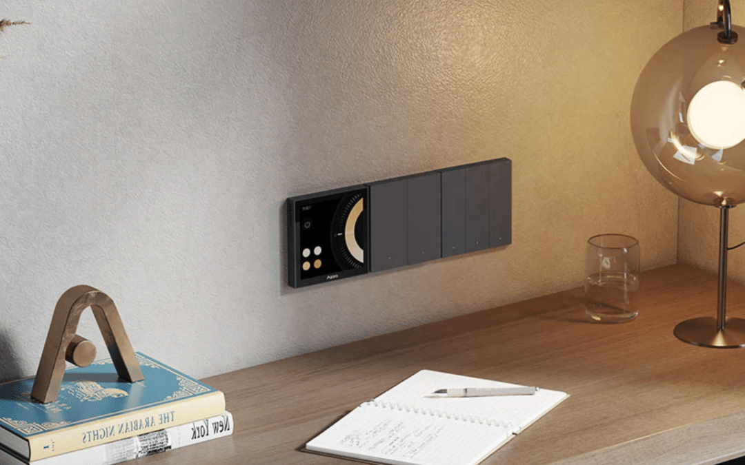 Aqara Smart Scene Panel S1: HomeKit-Wandschalter mit Touchscreen startet