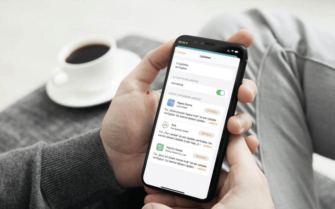 iOS 14.3 verbessert Updateprozess für HomeKit-Geräte