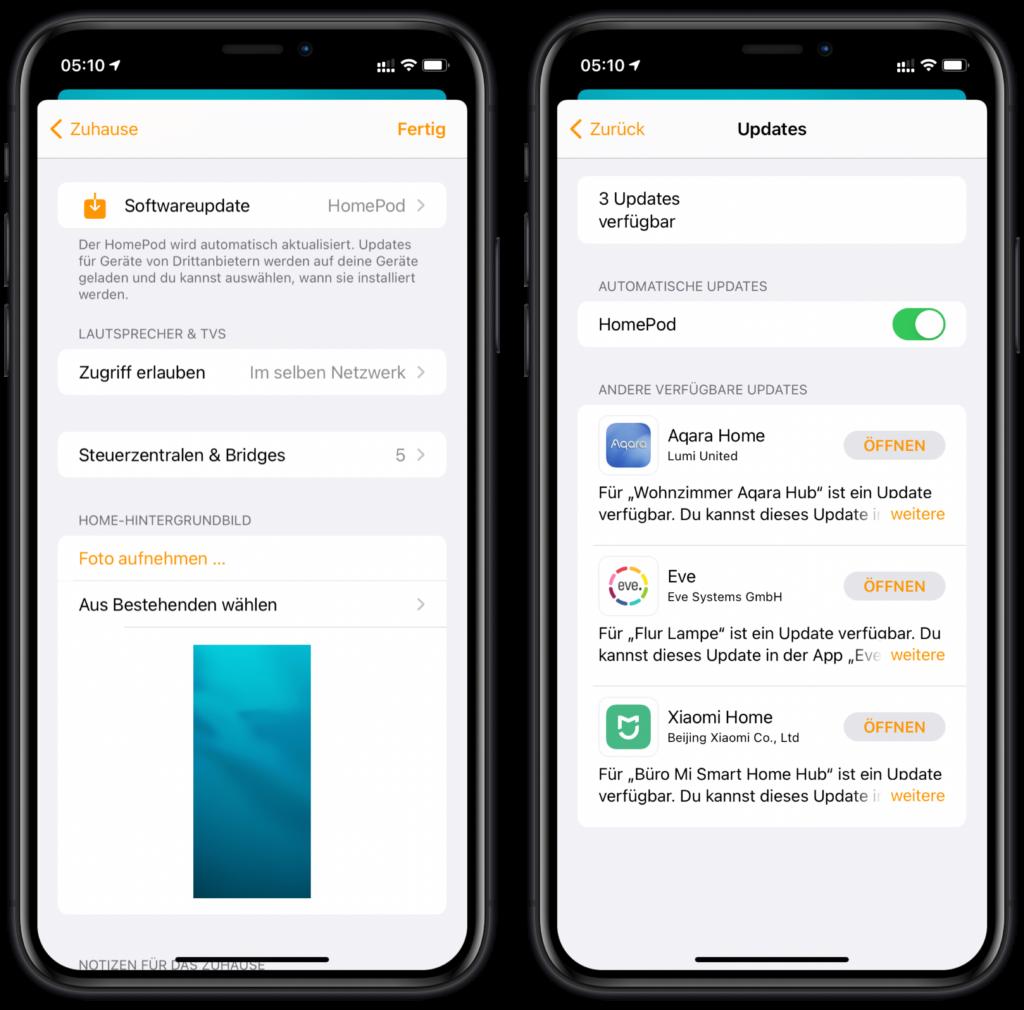 iOS 14.3 lädt HomeKit-Updates automatisch