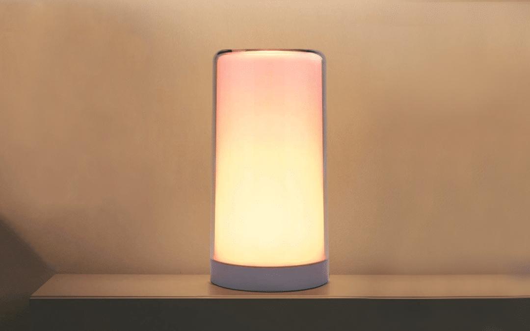 Meross HomeKit Tischlampe macht es den Farben nicht leicht