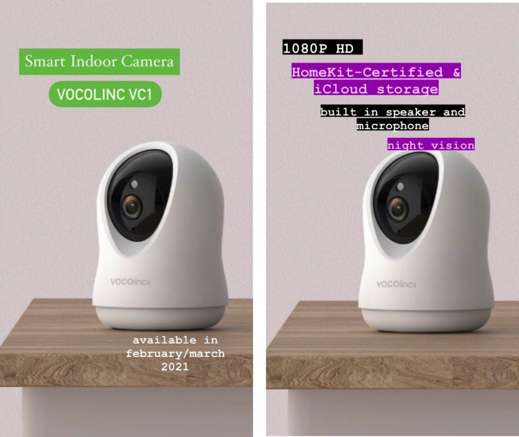 VOCOlinc VC1 HomeKit-Kamera