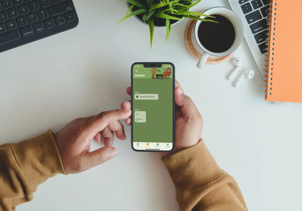 Apple Home-App mit Hintergründen personalisieren