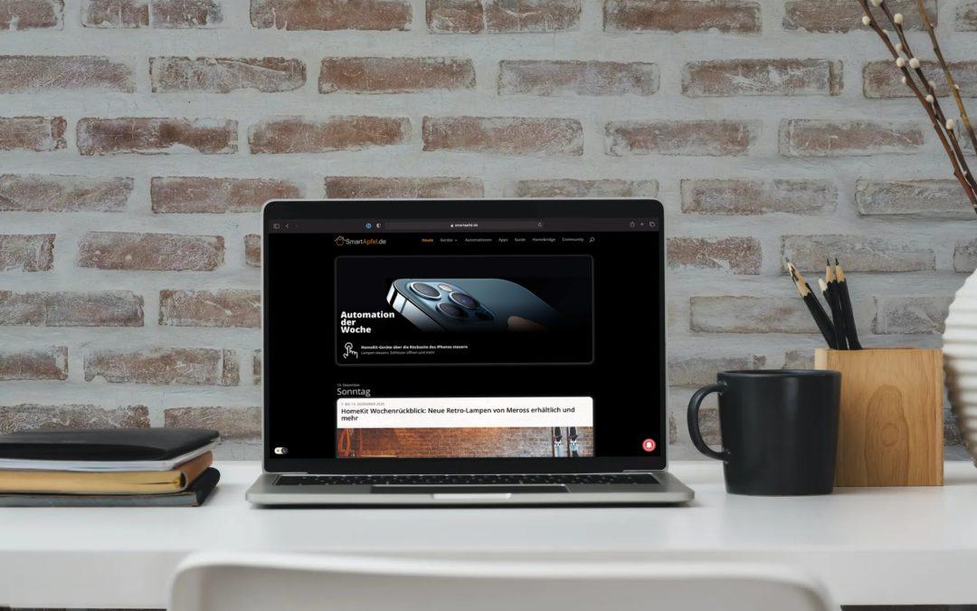 HomeKit Wochenrückblick: SmartApfel-Webseite erhält Dark Mode, aktuelle Angebote und mehr